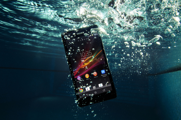 Sony Expands Line of Stylish, Water-Resistant Phone with the Xperia ZR