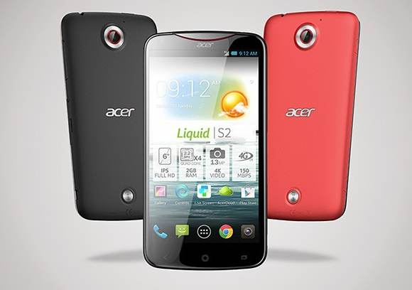 Acer Liquid S2 – First Smart Phone with 4K Video recording