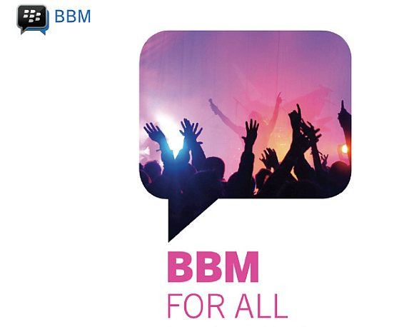 BBM for Android & iOS finally rolls out this weekend