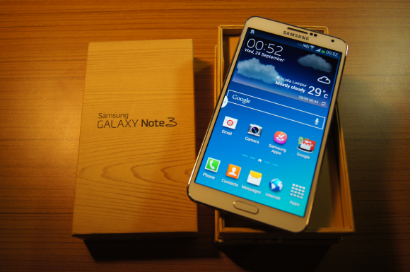 Unboxing: Samsung Galaxy Note 3