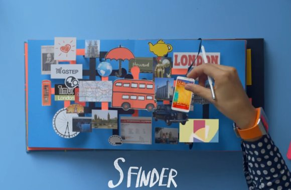 Samsung showcases Galaxy Note 3 new features in stop motion pop-up book video