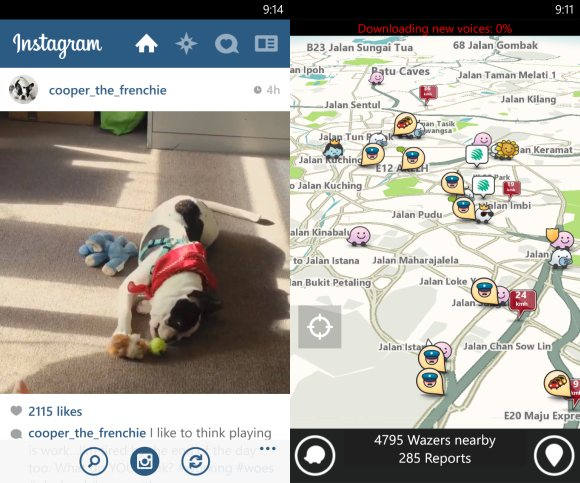 Waze & Instagram now available to download on Windows Phone 8