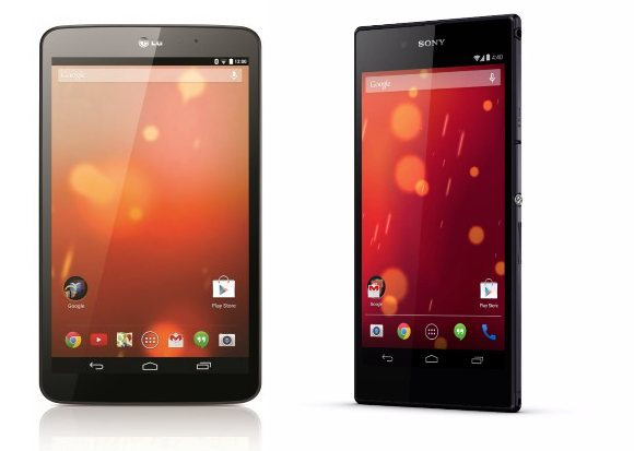 LG G Pad 8.3 & Sony Xperia Z Ultra Google Play Editions announced