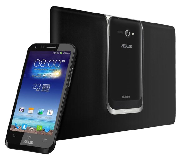 ASUS PadFone E released. Full sized PadFone with mid-spec hardware
