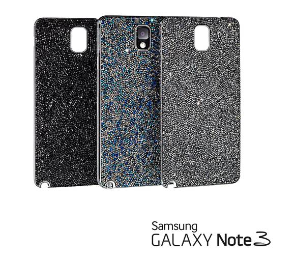 Samsung and Swarovski release limited edition crystal studded Galaxy Note 3 covers and bracelet