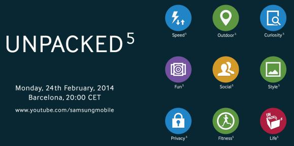 Samsung teases the power of 5 for upcoming Unpacked event