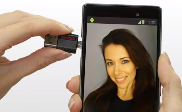SanDisk offers Ultra dual USB drive for both smart phones and desktops