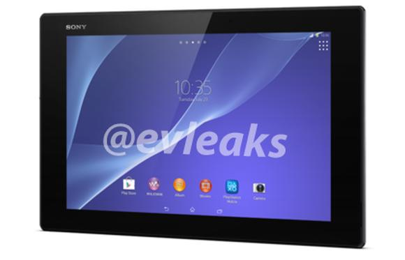 Official images of Sony Xperia Tablet Z2 gets leaked