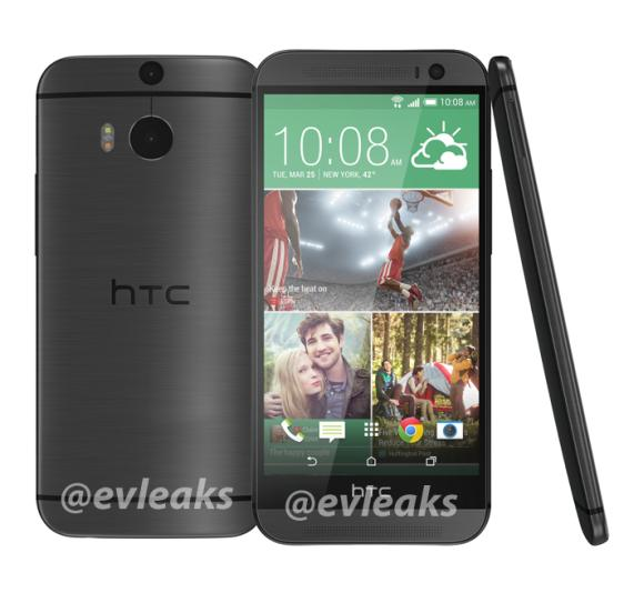 All new HTC One for 2014 in Grey colour gets leaked