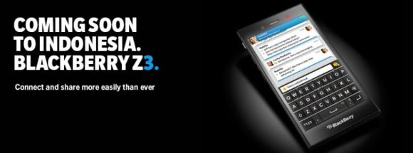 Jakarta Special: BlackBerry Announce the Z3 Developed Specifically for the Indonesian Market