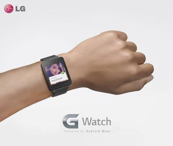 LG G Watch revealed. Powered by Google's Android Wear