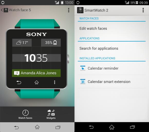 Sony SmartWatch 2 now allows custom watch faces with latest software update