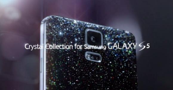 Samsung Galaxy S5 Crystal Collection launching next month