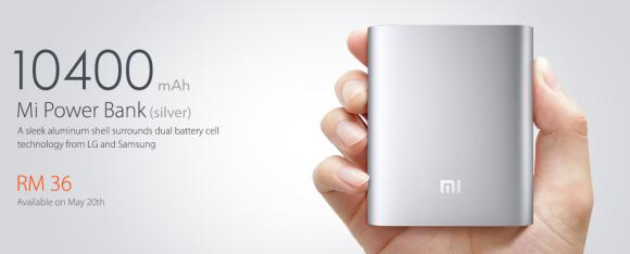 Xiaomi Malaysia offers 10,400mAh Power Bank for just RM36