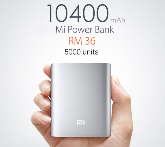 Xiaomi to offer just 5,000 units of Mi Power Bank on 20th May