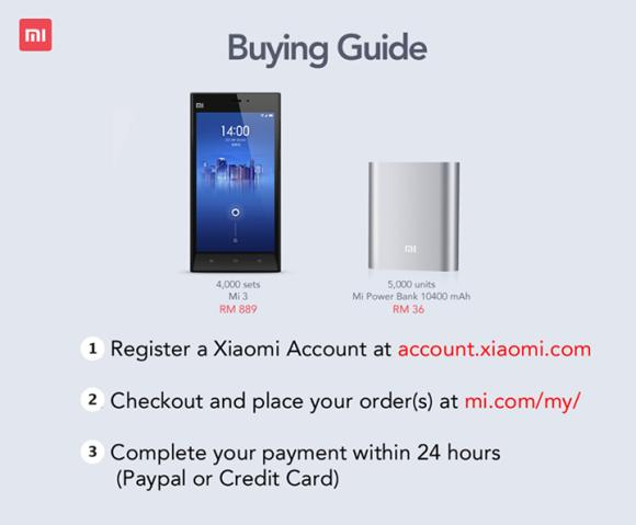 Xiaomi starts Mi 3 online sales at 12PM on 20th May. Here's what you need to know