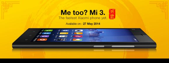 DiGi opens registration of interest for Xiaomi Mi 3