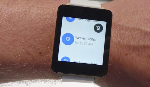 LG G Watch gets demoed in hands-on video