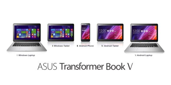 ASUS Transformer Book V – Phone, Tablet & Laptop hybrid offering both Android & Windows experience
