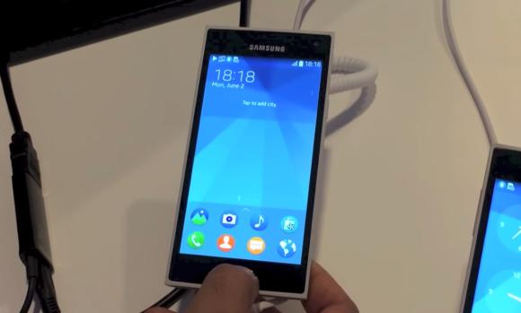 VIDEO: This is how Tizen OS looks like on the Samsung Z