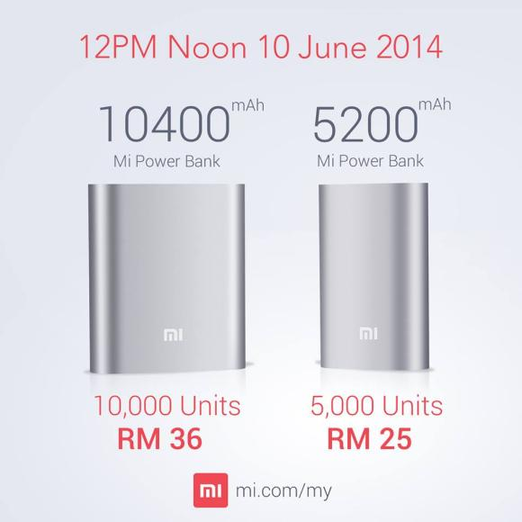 Xiaomi stocks up more power bank on 10th June. Introduces new 5,200mAh capacity unit