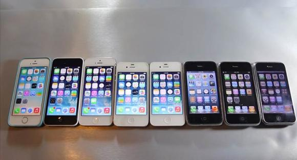 VIDEO: Evolution of iOS from iPhone OS 1.0 to iOS 8