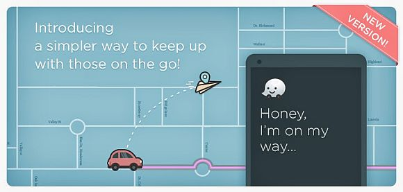 The latest version of Waze features integrated social sharing and more