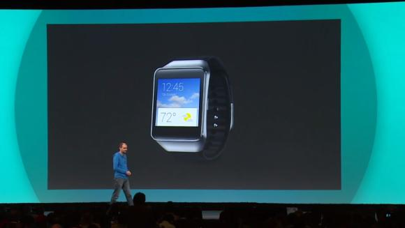 Samsung Gear Live with Android Wear announced at Google I/O