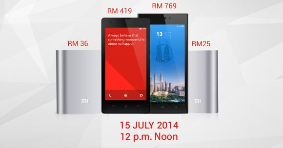 Xiaomi restocks 10,000 Redmi 1S along with its Mi 3 and Mi Power Banks next Tuesday