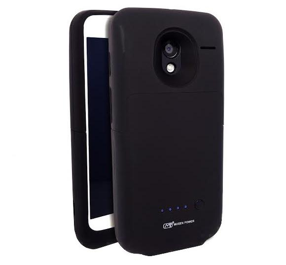 Mugen Power Case for Moto X doesn't just add juice but adds storage expansion as well