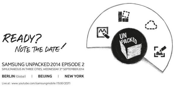 Samsung Unpacked 2014 Episode 2 happening across 3 cities