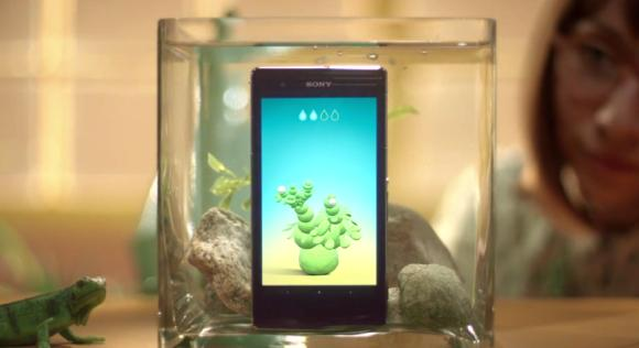 Sony Xperia provides more fun in water with its series of underwater apps