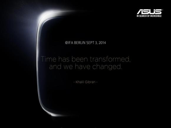 ASUS teases a smart watch for IFA 2014