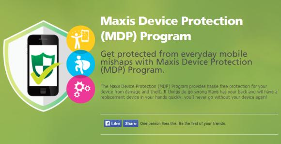 Maxis offers smart phone and tablet protection with immediate device replacement