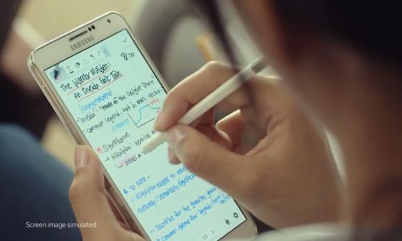 Samsung Galaxy Note 4 teaser video highlights the importance of handwriting