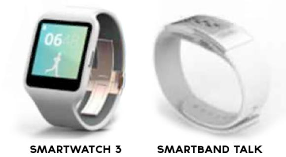 Sony SmartWatch 3 and SmartBand Talk leaked ahead of launch