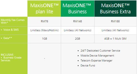 maxisone business plan