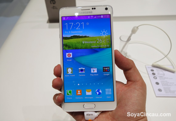 Samsung Galaxy Note 4 to be available in 140 countries by end of next month