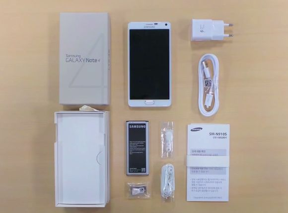 Samsung releases its own Galaxy Note 4 Unboxing Video