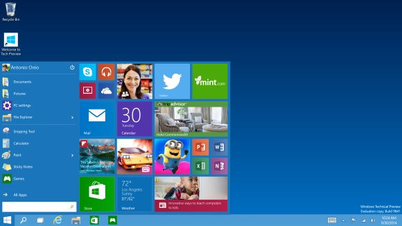 Microsoft takes it up a notch with Windows 10