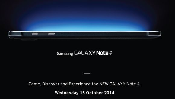 Samsung Galaxy Note 4 Malaysian launch happening on 15th October