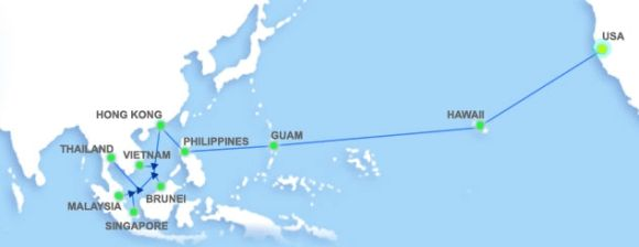 Asia-America Gateway submarine cable finally restored