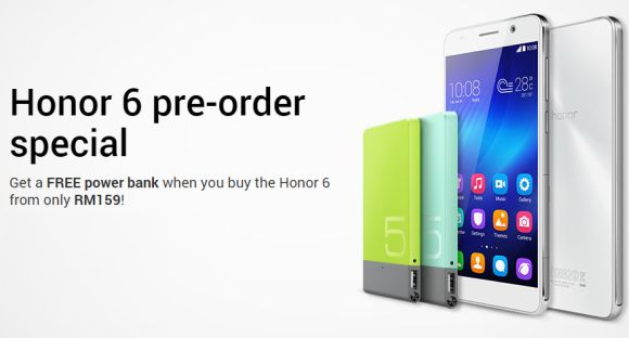DiGi starts pre-order of Honor 6 from as low as RM159