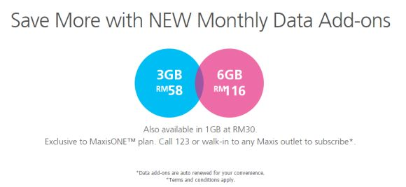 MaxisONE Plan now offers extra internet quota for less