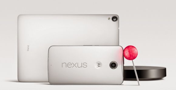 Android 5.0 Lollipop now official with a phablet, tablet and TV player
