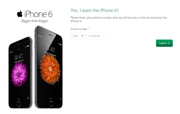 Struggle to pre-order an iPhone 6 from Maxis? Here's a solution