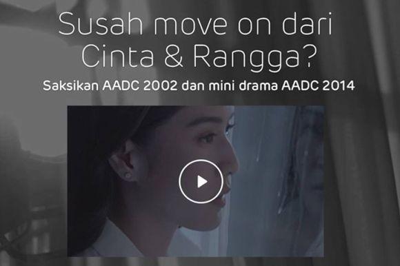 LINE presents Ada Apa Dengan Cinta 2014 in a special sequel