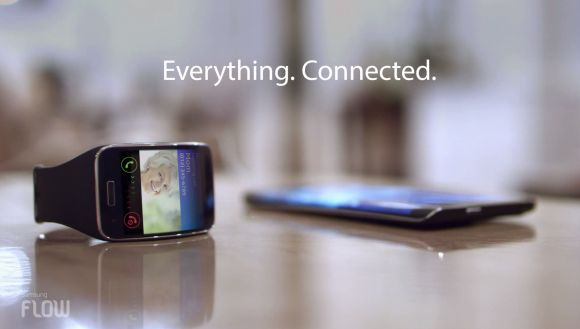 Samsung offers continuity through its family of products with Flow