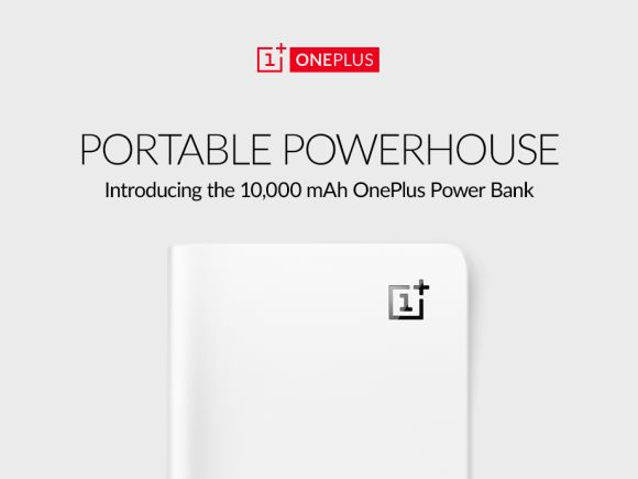 OnePlus announces its own 10,000mAh Power Bank