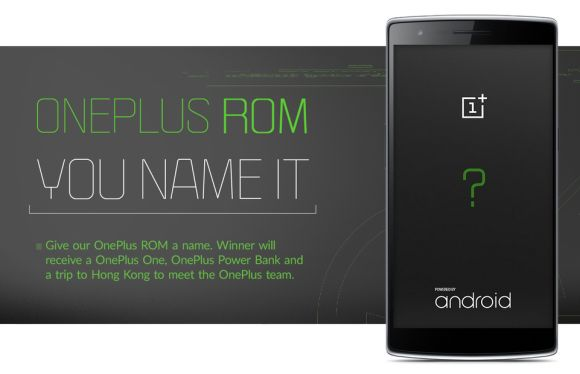 OnePlus is making their own custom ROM and they want you to name it